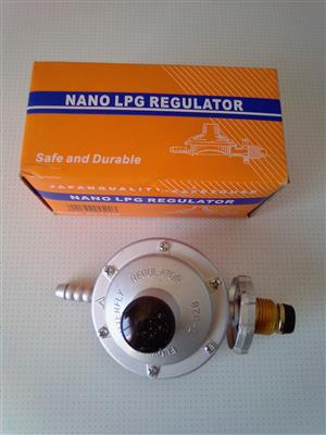 Gas Regulator Nano LPG. Made in Japan. Brand new in a Box.