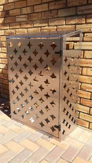 Stylish cages for keeping your gas cylinders outside the house.