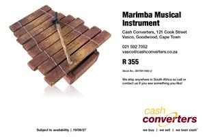 Marimba Musical Instrument