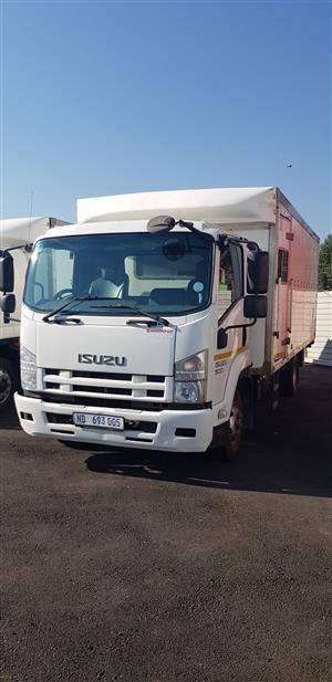 2012 Isuzu FRR500 Closed Body with Taillift