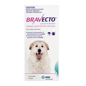 BUY BRAVECTO – TOP SELLING BRAND FROM MERCK ANIMAL HEALTH