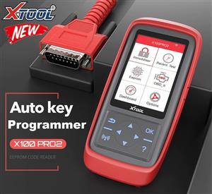Auto Key Programmer/Mileage adjustment / ECU PROGRAMMER XTOOL X100 Pro 2 OBD2 Including EEPROM Code Reader Free Update Multi-language support NOW IN STOCK!!