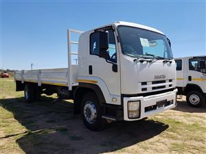 Isuzu FTR 850 fitted with drop side body