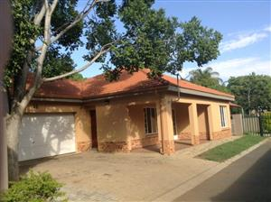Spacious house for rental in a safe complex in waterfall east Rustenburg