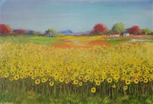 SUNFLOWERS /SOLD