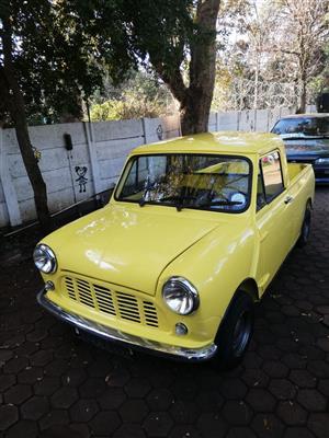 Austin Mini Pick Up, Bakkie, 1967