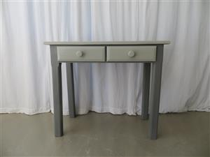 Grey Entrance table/ Dressing table