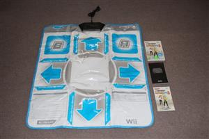 Wii Dance Dance Revolution Hottest party 3 with dance mat