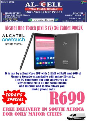 Alcatel One Touch Pixi 3 (7) 3G Tablet 9002X | Junk Mail