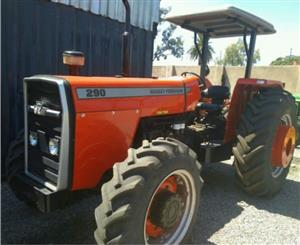 S1750 Red Massey Ferguson (MF) 290 60kW/80Hp 4x4 Pre-Owned Tractor