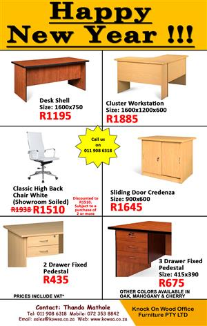 Office Furniture New Year Specials