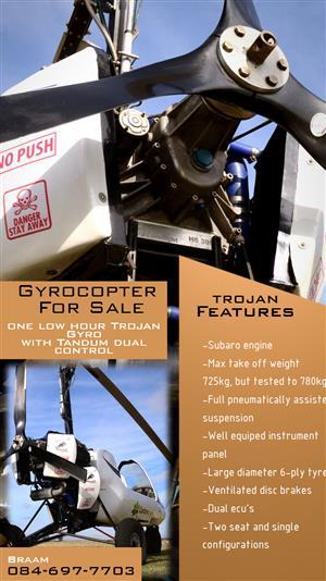 Trojan Gyrocopter
