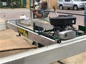 Lucas Sawmill with slabbing attachment