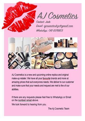 AJ Cosmetics- Affordable make-up