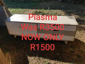 Light wooden plasma stand for sale