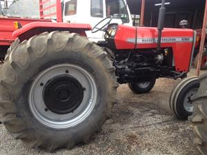 Red Massey Ferguson (MF) 290 2x4 Pre-Owned Tractor