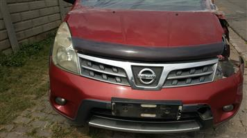 NISSAN LIVINA 1.6 X-GEAR 2011 STRIPPING FOR SPARES