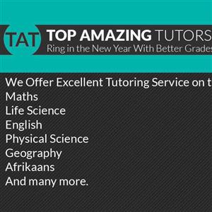 Quality Tutors Available @ Your Home Comfort