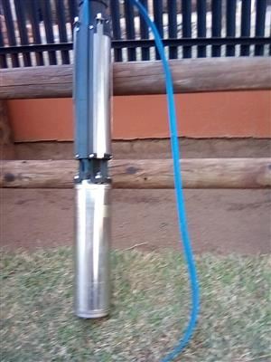Franklin Electric Submersible Borehole Pump with Electric Cable