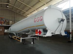 Used 2007 GRW Engineering Tri Axle 50 000LT Fuel Tanker for sale