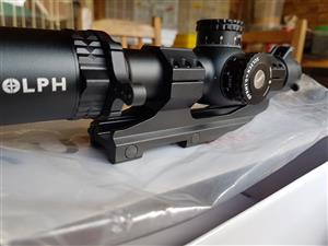 Rudolph Tactical T1 1-8x24mm FFP
