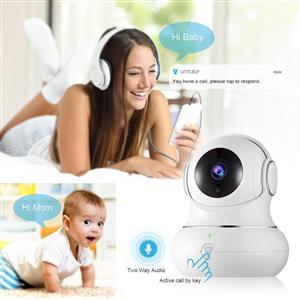 Littlelf baby camera monitor 360 degree view wifi HD littlelf ZA