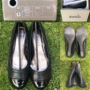 Kelso Ladies Shoes - wholesale/bulk size 8 only