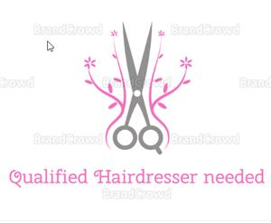 Qualified Hairdresser with her own client basis