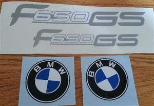 2000 - 02 BMW F650 GS decals stickers graphics kit