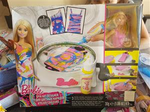 Barbie spin art designer