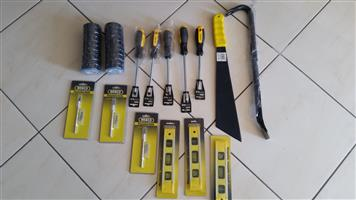 BRAND NEW TOOLS SELLING  AS A SET