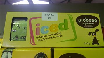 Probono Iced Dog Biscuits now available at PETS4LIFE BRACKENFELL