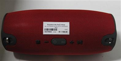 JBL EXTREME BLUETOOTH SPEAKER RED S037994A #Rosettenvillepawnshop