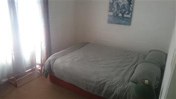 Spacious Room available immediately for single professional. Secure parking, close to Myciti and shopping