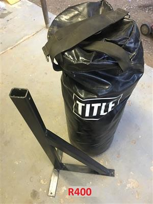 Title punching bag for sale