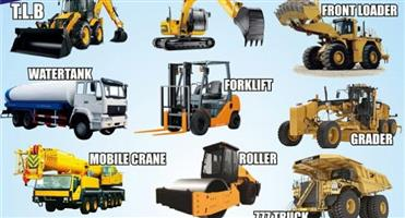 Register for any 2 machines and get R1000 discounts 777 dump truck, excavator, Boilermaker, Grader./free accommodation