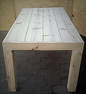 Patio table Chunky Farmhouse series 2000 Raw