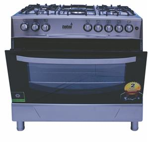 5 Burner Totai Gas Stove with Electric or Gas Oven