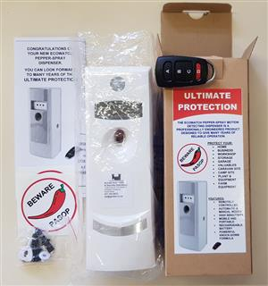 Security Pepper Bomb Protection Alarm Automatic New