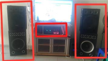 Amp and 4 x Speaker