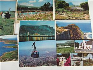 Old Post Cards - Cape Town area  +- 10 - Very old used post cards with stamps