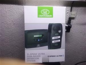 Centurion G-speak Ultra GSM-Based Intercom System