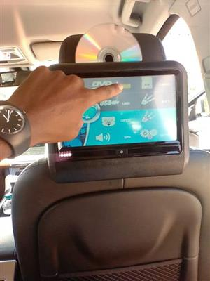 In Car DVD entertainment systems with PlayStation