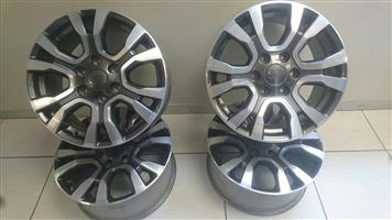 Ford Ranger Wildtrack rims