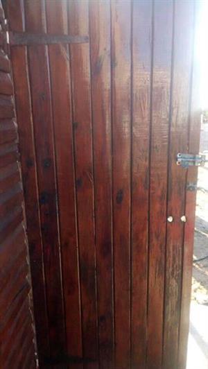 Wooden Wendy door 200x74