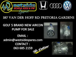 GOLF 5 BRAND NEW AIRCON PUMP FOR SALE