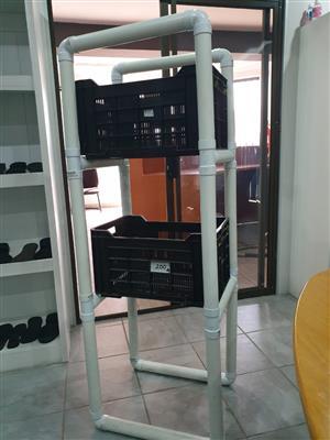 Plastic crates brand new