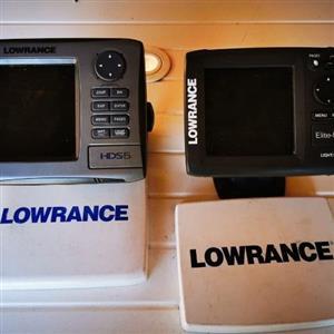 Lowrance GPS & Fishfinder For Sale