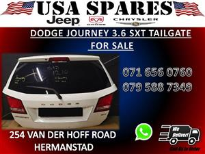 DODGE JOURNEY 3.6 SXT USED TAILGATE FOR SALE