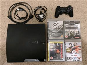 Ps3 320gb slim + 1 Game included free of your choice bundle